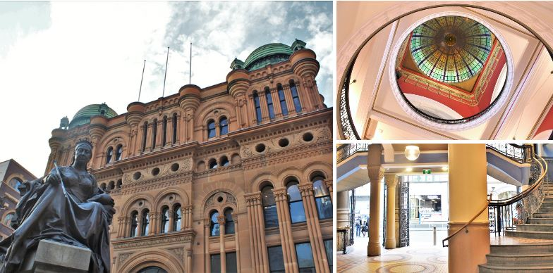 Queen Victoria Building, Sydney - historical Australian architecture
