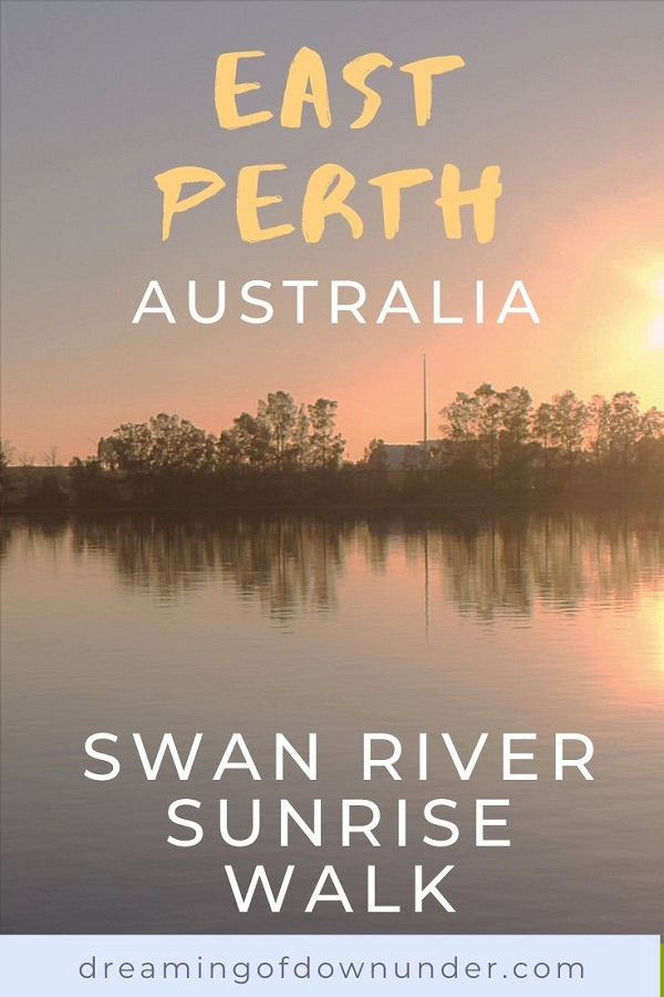 Discover how to see a stunning Perth sunrise on this short guided walk and photo diary along the Swan River in East Perth.