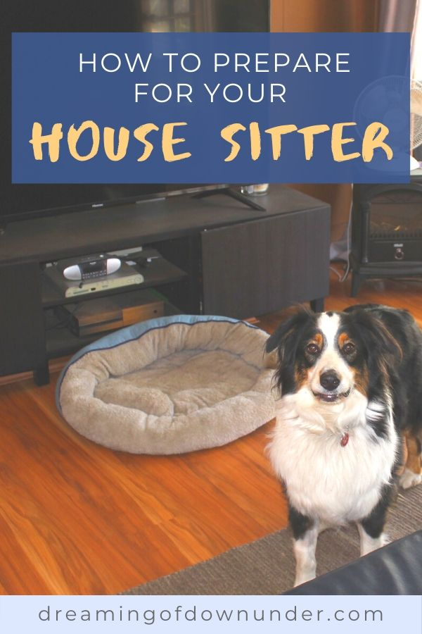 Learn how to prepare for your house sitter with this checklist and guide by a professional house sitter.