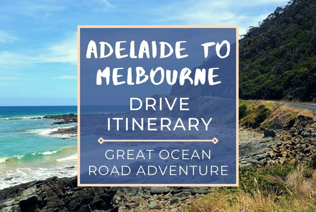 This Adelaide to Melbourne drive itinerary via the Great Ocean Road includes road trip costs, drive stops, driving time & distances.