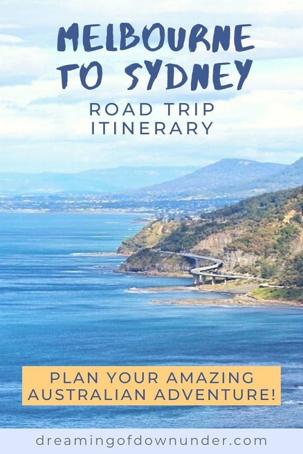 This Melbourne to Sydney drive itinerary includes drive stops, distances and the best accommodation options to plan your trip.