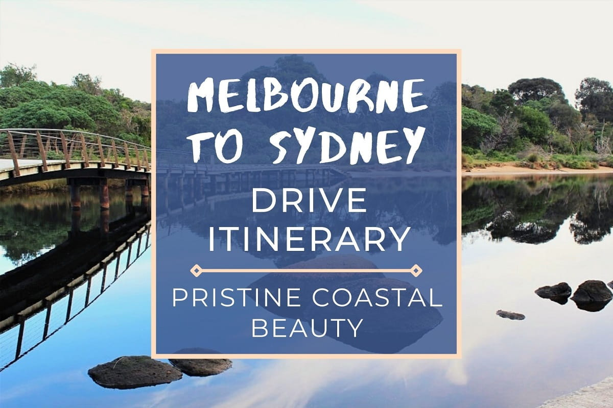 Use this Melbourne to Sydney drive itinerary to plan your East Coast Australia road trip. Includes distances, drive time, stops & costs.