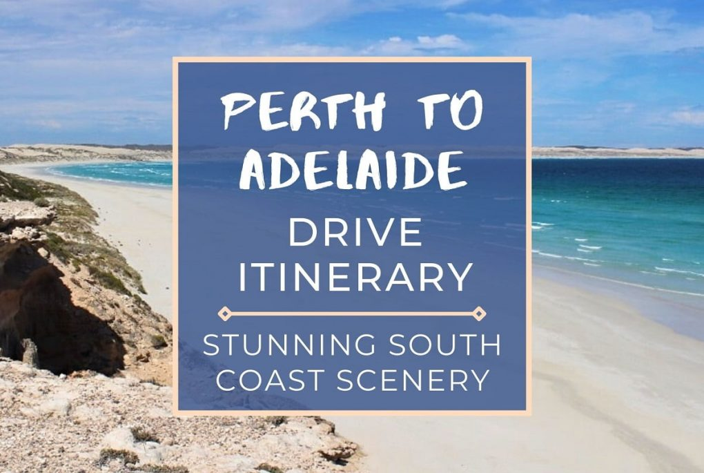 This Perth to Adelaide drive itinerary covers road trip distances, drive stops, petrol costs, campsites, Nullarbor, fuel stops & attractions!