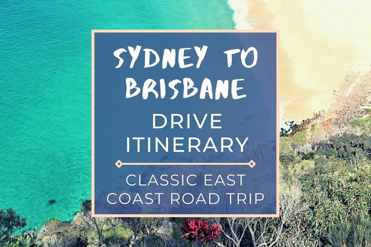 This Sydney to Brisbane drive itinerary includes drive stops, distance, driving time, costs & campsites for your east coast road trip.
