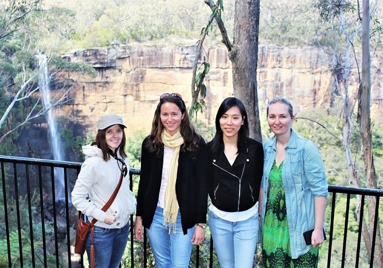 Guide to the outhern Highlands NSW, including Fitzroy Falls.