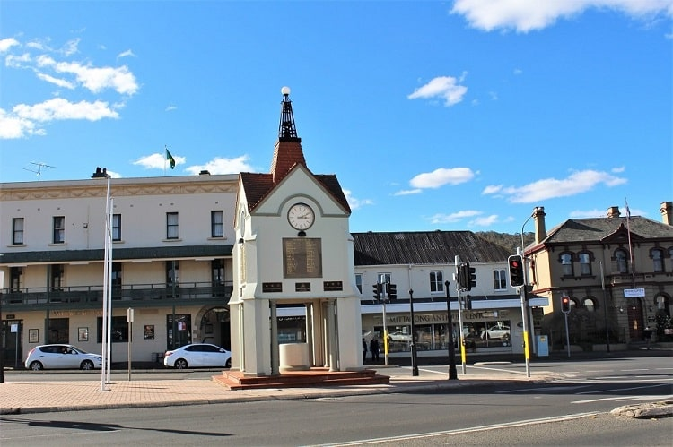 Mittagong - a quaint country town in the Southern Highlands, NSW.