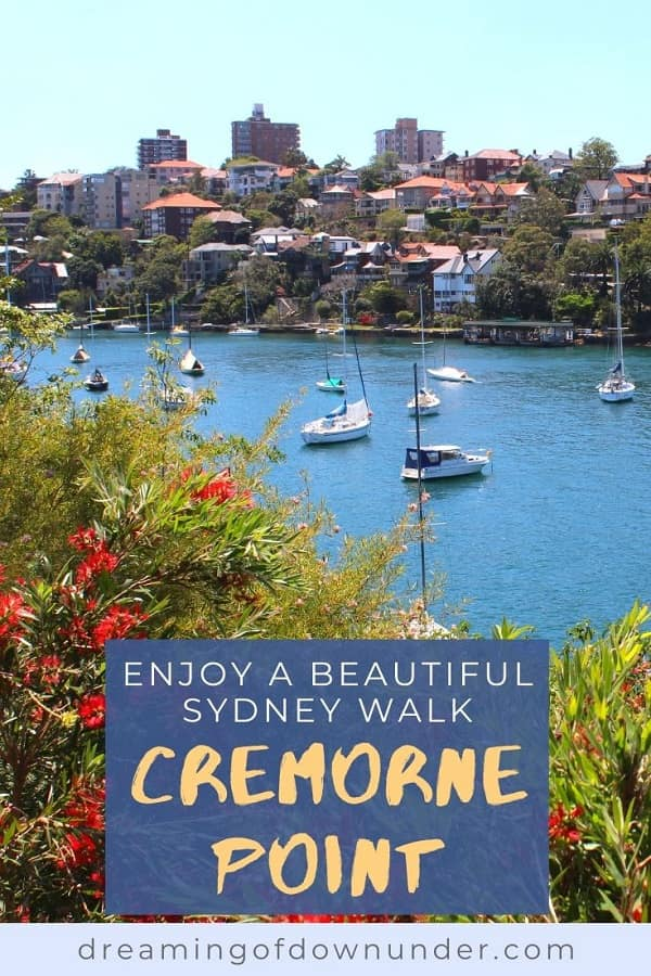 Discover peace and tranquility on this 3km Sydney walk from Mosman Bay to Cremorne Point, passing by Lex and Ruby's Gardens, MacCallum Pool and perfect city views.