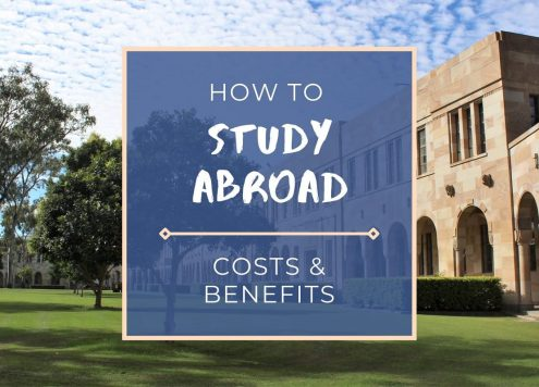 How to study abroad and find a student exchange program, plus the costs, finding a university and timings for study abroad guide.