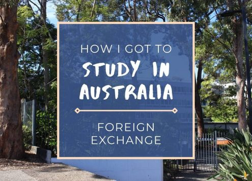 Blog post on how to study in Australia as a foreign exchange student.