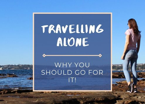 Scared of travelling alone? Don't be! Read my nine reasons to travel solo and reap the benefits for life.