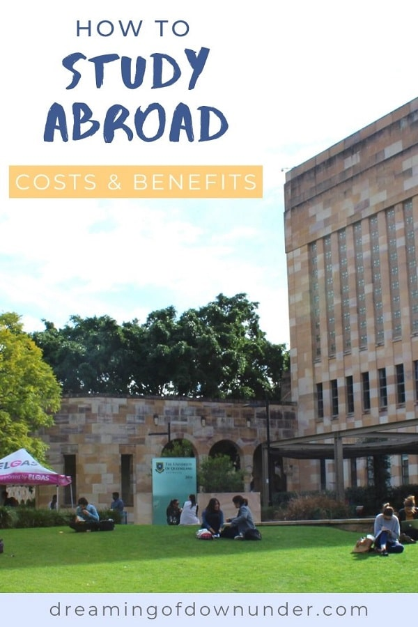 How to study abroad and find a student exchange program, plus the costs, finding a university and timings for study abroad Australia.