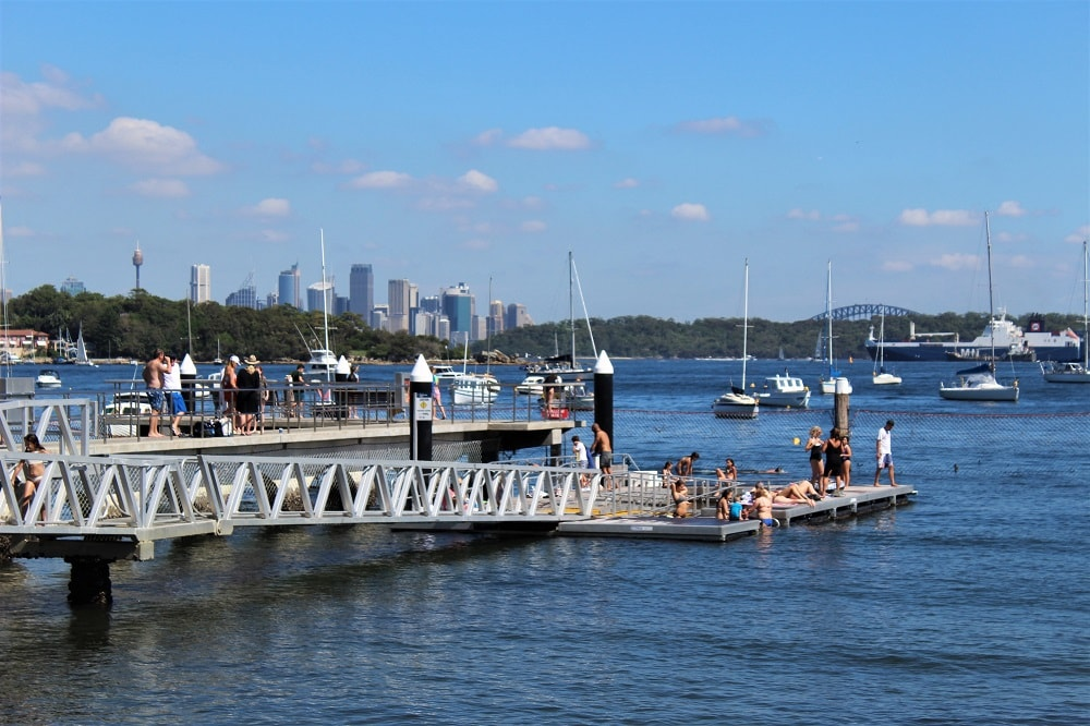 What to do on a Sydney day trip to Watsons Bay: beautiful beaches, waterside restaurants and cafes, walking trails to Hornby Lighthouse and superb city views from The Gap.