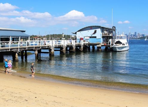 Guide to Watsons Bay, Sydney, covering the beautiful beaches, waterside restaurants and cafes, walking trails to Hornby Lighthouse and superb city views from The Gap.