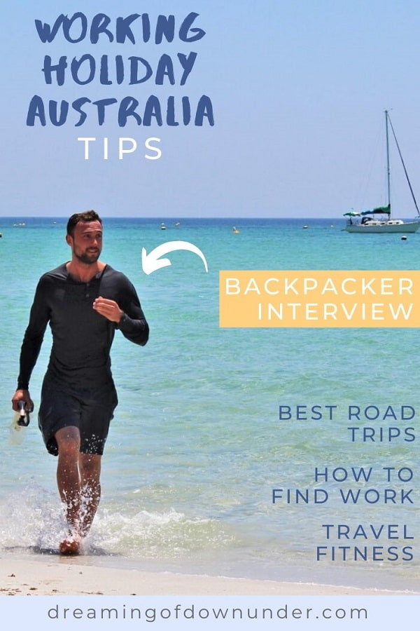 A backpacker's Australian working holiday visa experience: working in construction in Australia, how to find work in Australia, maintaining fitness on Australian road trips, Australia highlights and finding farm work for the second year visa.