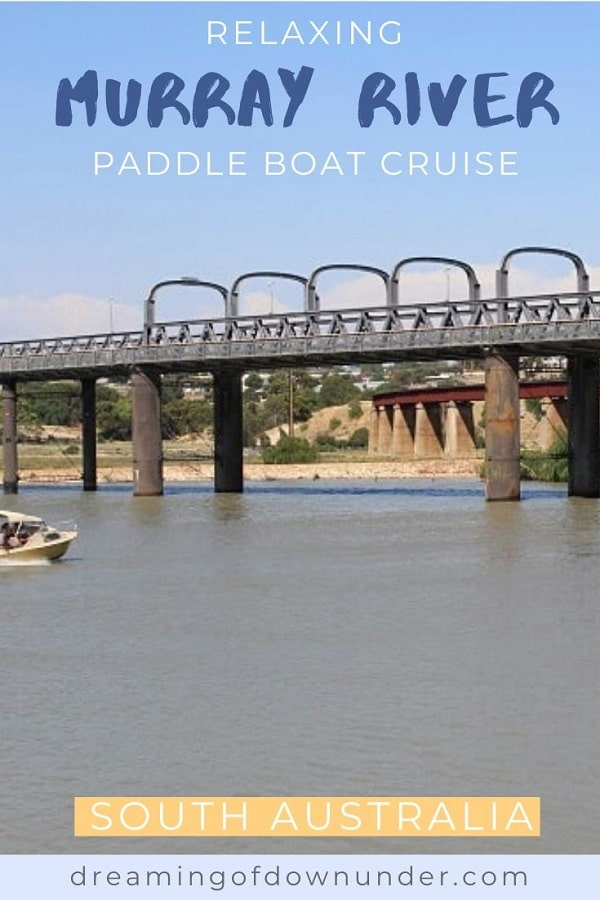 Review of a Murray River paddle boat cruise in South Australia.