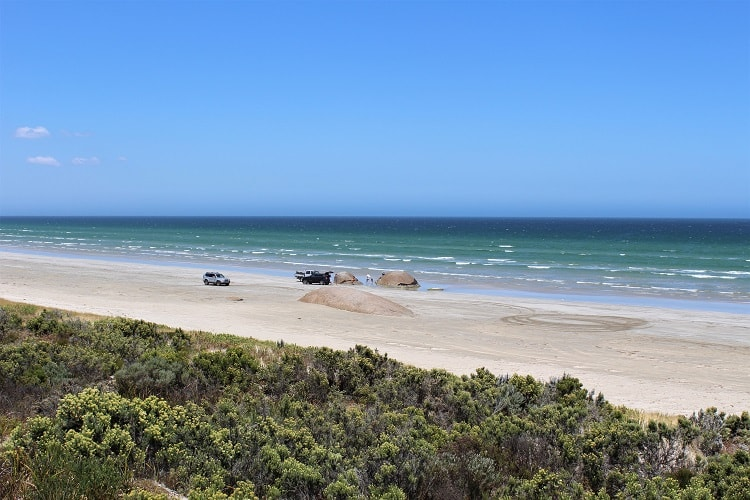 The Granites Beach in Coorong, SA.