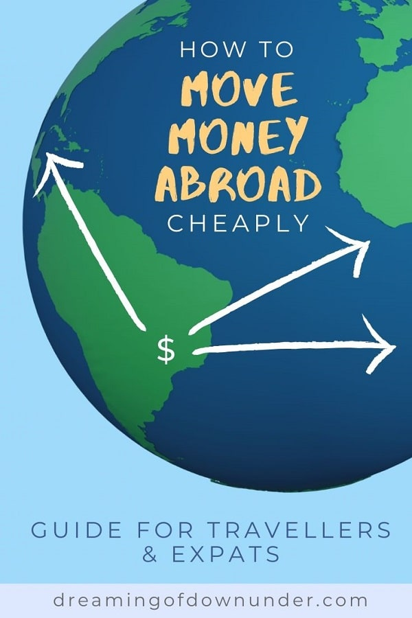 Moving money overseas with Wise.