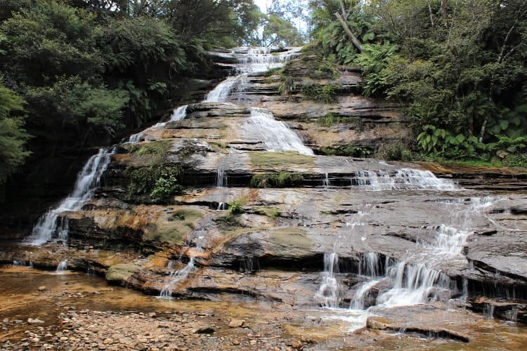 Katoomba Cascades on the Katoomba Falls Round Walk.