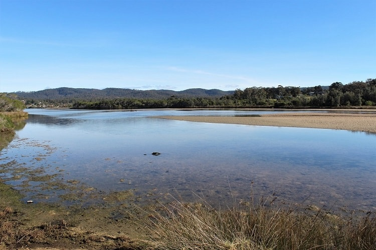 Visit Lake Curalo, one of many scenic things to do in Eden NSW.