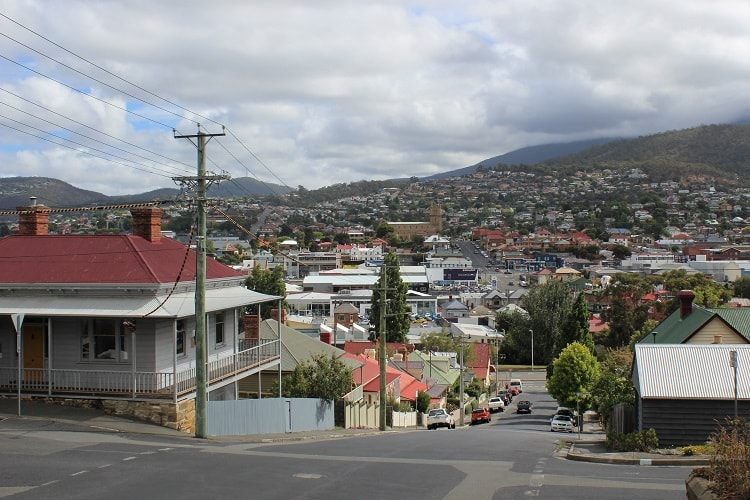 Living in Hobart, Tasmania: real estate overview.