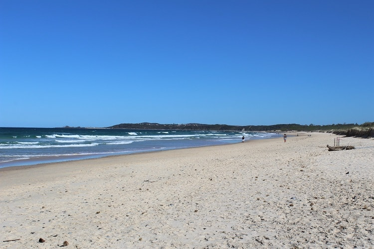 Things to Do in Yamba: beautiful Pippi Beach.