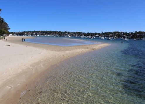 Beautiful views on the Cronulla Beach Walk in Sydney (the suburb where YouTuber Sarah Stevenson of Sarah's Day lives)!