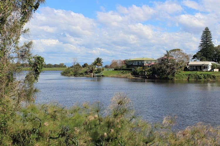 Macleay River in Gladstone NSW.
