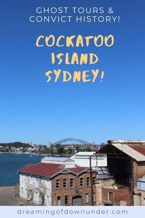 Plan a trip to Cockatoo Island, Sydney! Explore abandoned prisons in the convict precinct, industrial buildings from the island's days as a shipyard or go camping!