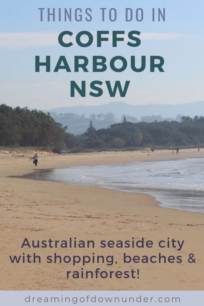 Find out the best things to do in Coffs Harbour NSW. This holiday city between Sydney & Brisbane has amazing beaches, rainforest walks, restaurants & more!