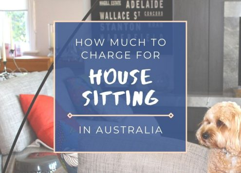 Find out how much to charge for house sitting in Australia: guide by a professional house sitter and pet sitter in Sydney.