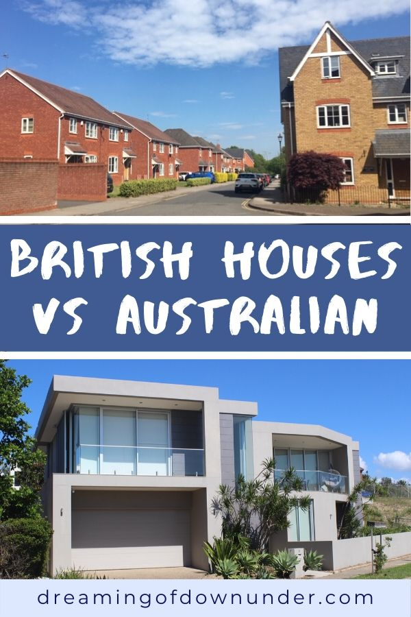 A comparison of UK vs Australian homes.