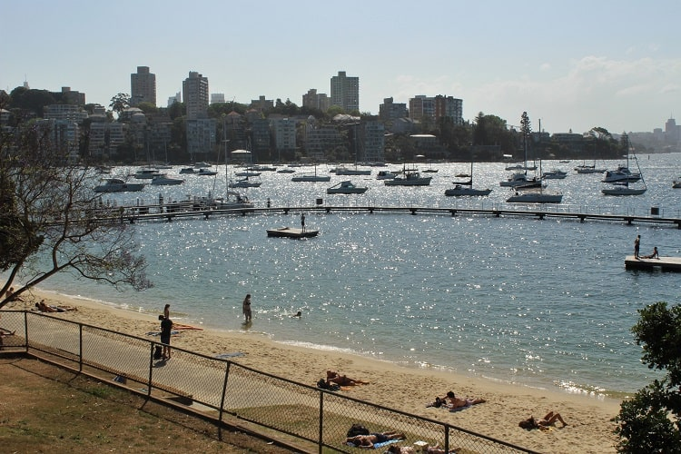 Seven Shillings Beach and Rose Murray Pool in Eastern Suburbs, Sydney.